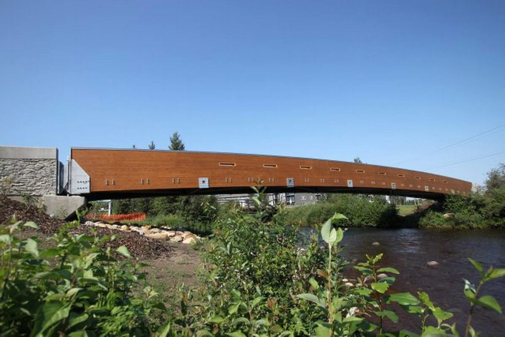 Glulam Bridge